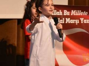 Karaman'da İstiklal Marşı'nın Kabulünün 97. Yıl Dönümü Kutlamaları