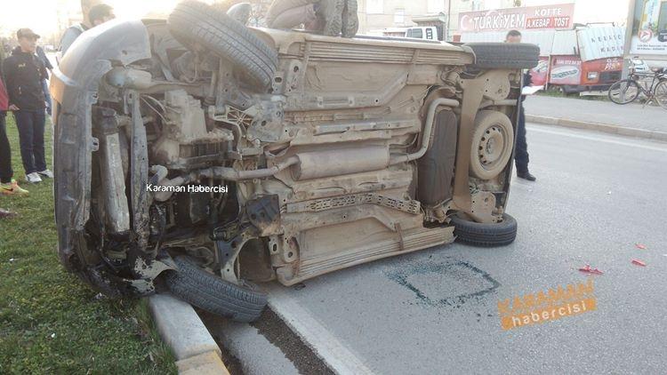 Tren Garı Kavşağında Trafik Kazası galerisi resim 1