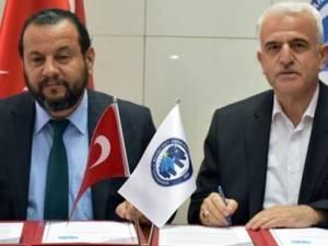 KMÜ ile Mesleki Eğitim Faaliyetlerine Yönelik İşbirliği Protokolü İmzala