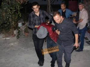 Konya'da Yaşlı çiftin evine giren şüpheliler suçüstü yakalandı