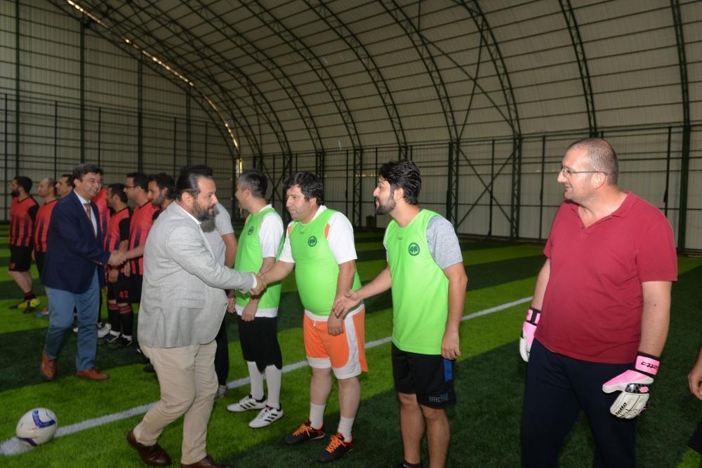 KMÜ'de Birimler Arası Spor Oyunları Başladı 1
