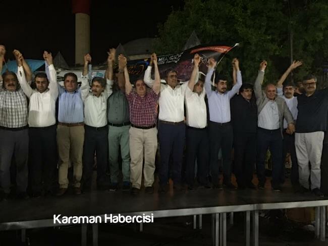 Karaman Ziraat Odası Milli İradeye ve Demokrasiye Sahip Çıktı 2