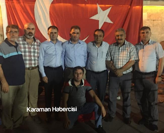 Karaman Ziraat Odası Milli İradeye ve Demokrasiye Sahip Çıktı 4