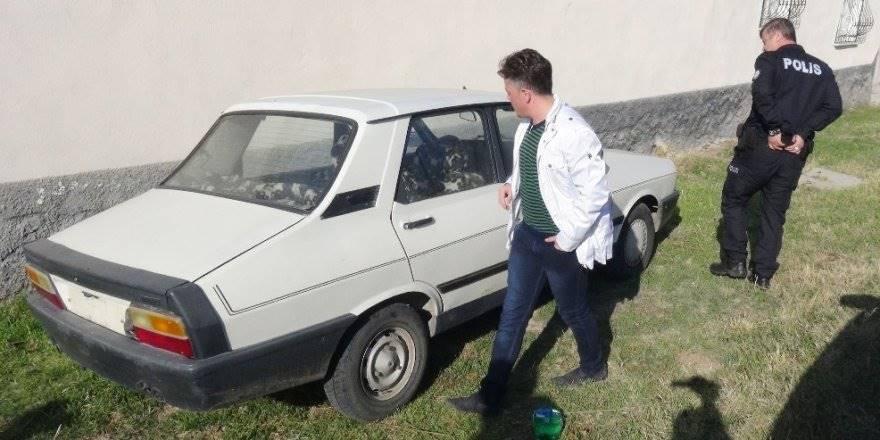 Aksaray'da Vatandaşların Şüphelendiği Otomobil Çalıntı Çıktı