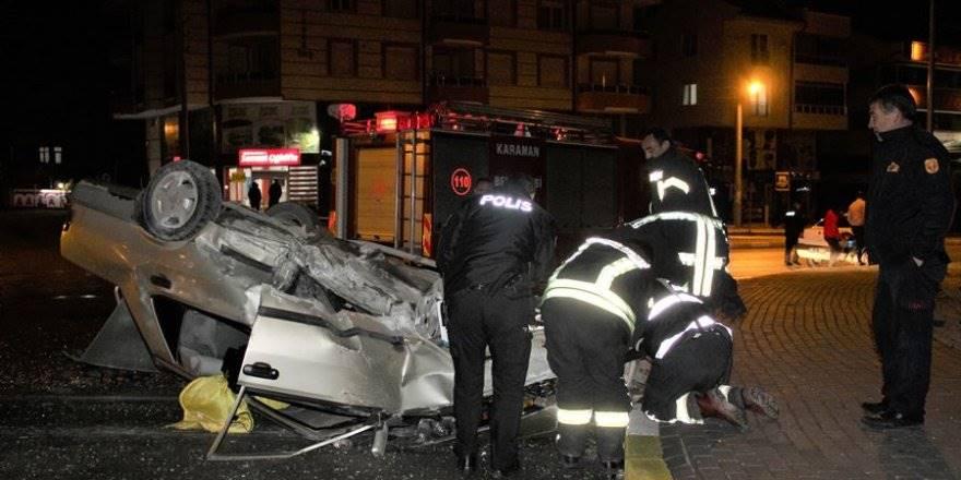 Karaman'da Korkunç Trafik Kazası