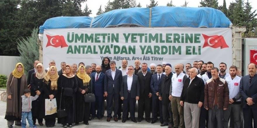 Antalya'dan Suriye'ye Yardım Eli Uzandı