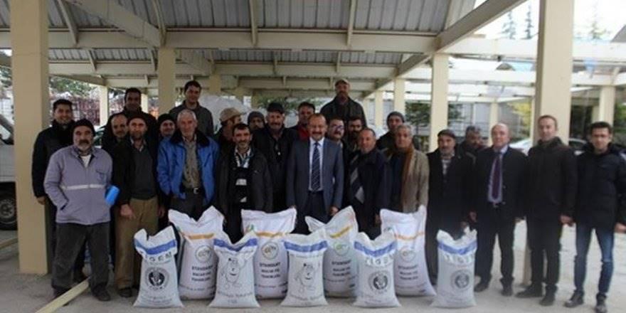 Karaman'da Macar Fiği Tohumu Tamamı Hibe Olarak Dağıtıldı