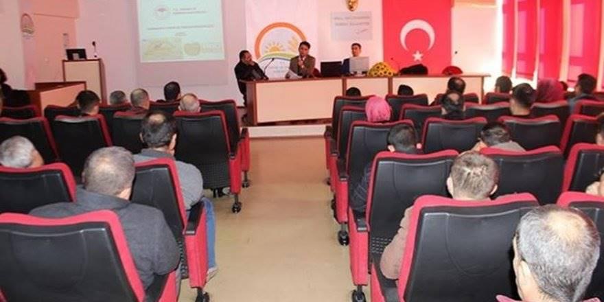 Karaman'da Çalışanlara Hijyen Eğitimi Verildi