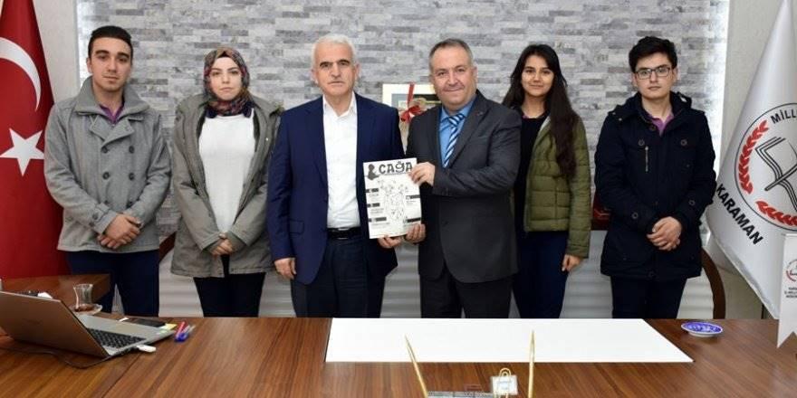 Karaman'da Fikir ve Edebiyat Dergisi 'Çağa' Yayın Hayatın
