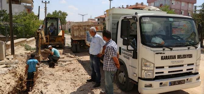 Alparslan Türkeş Bulvarı'nda Çalışmalar Devam Ediyor 1