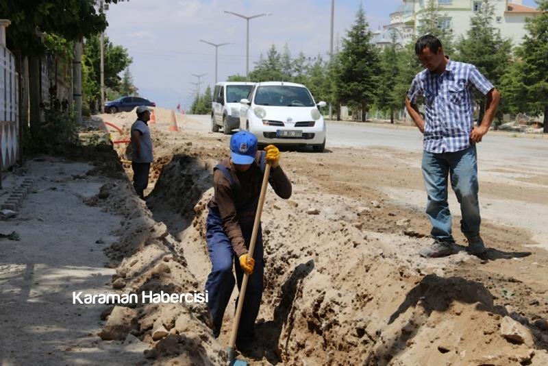 Alparslan Türkeş Bulvarı'nda Çalışmalar Devam Ediyor 2