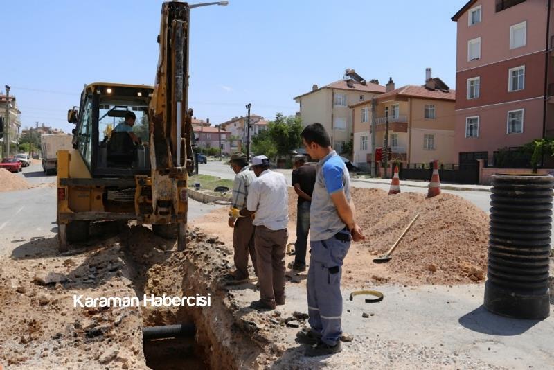 Alparslan Türkeş Bulvarı'nda Çalışmalar Devam Ediyor 3
