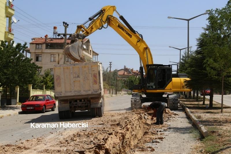 Alparslan Türkeş Bulvarı'nda Çalışmalar Devam Ediyor 8