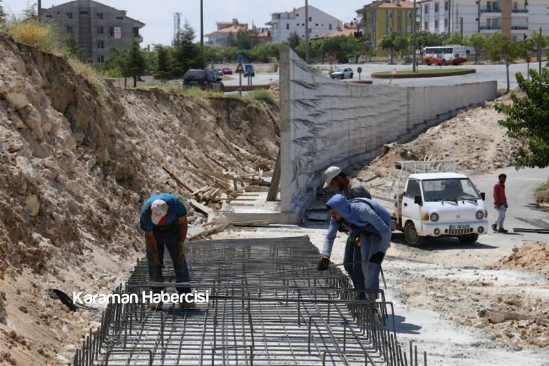 Alparslan Türkeş Bulvarı'nda Çalışmalar Devam Ediyor 9