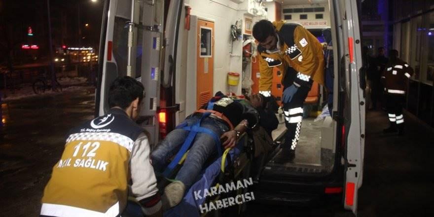 Konya'da Gece Yarısı Silahlar Konuştu