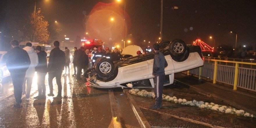 Konya'da Kazazedeye Yardıma Gidenlere Otomobil Çarptı: 2 Ölü, 3 Yar