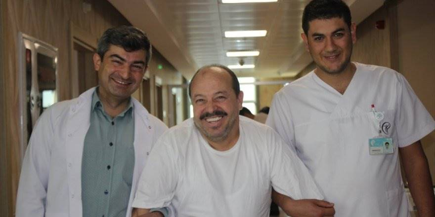 Mersin'in İnşaatından Düşerek Kemikleri Kırılan Hasta Konya'da
