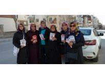 AK Parti Karaman Kadın Kolları Referandum Çalışmalarına Devam Ediyor