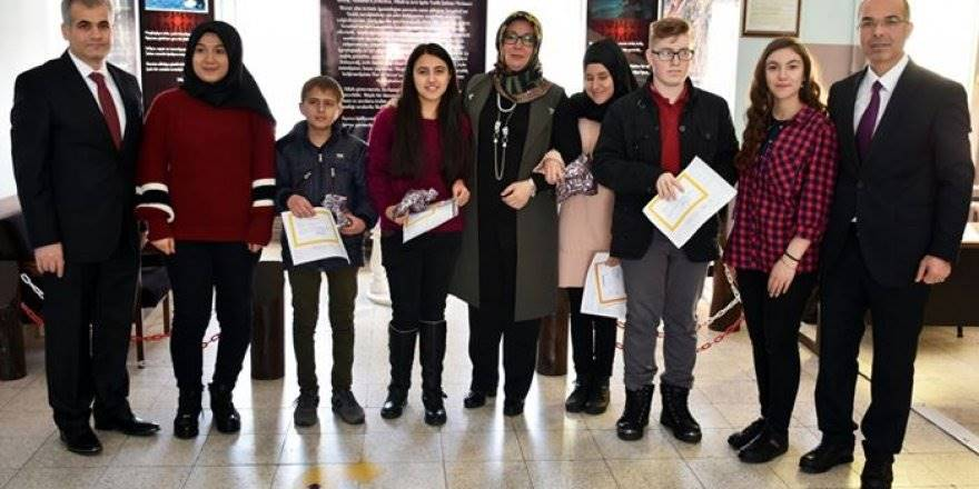 Karaman'da Engelli Öğrencilerin Karne Heyecanı
