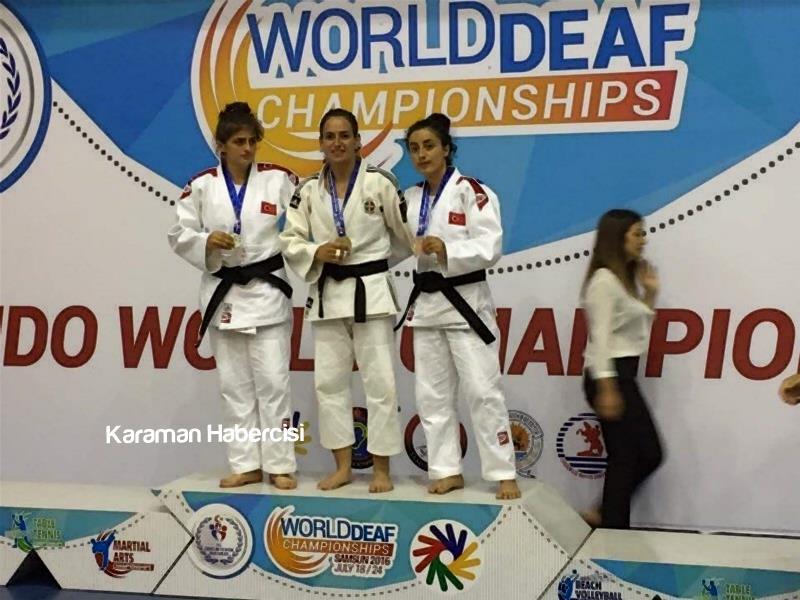 Judoculardan İki Dünya Üçüncülüğü, Bir Dünya İkinciliği 1