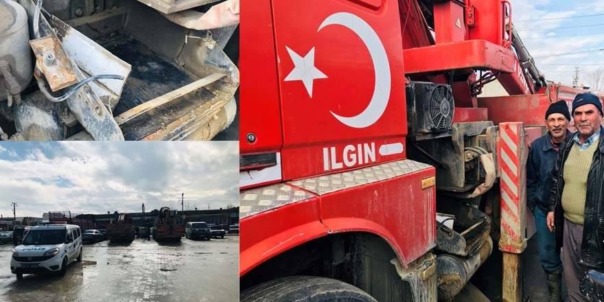Konya'da Akü Hırsızlığı