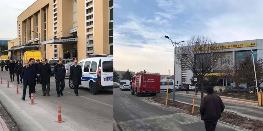 Konya'da PTT Binasında Patlama