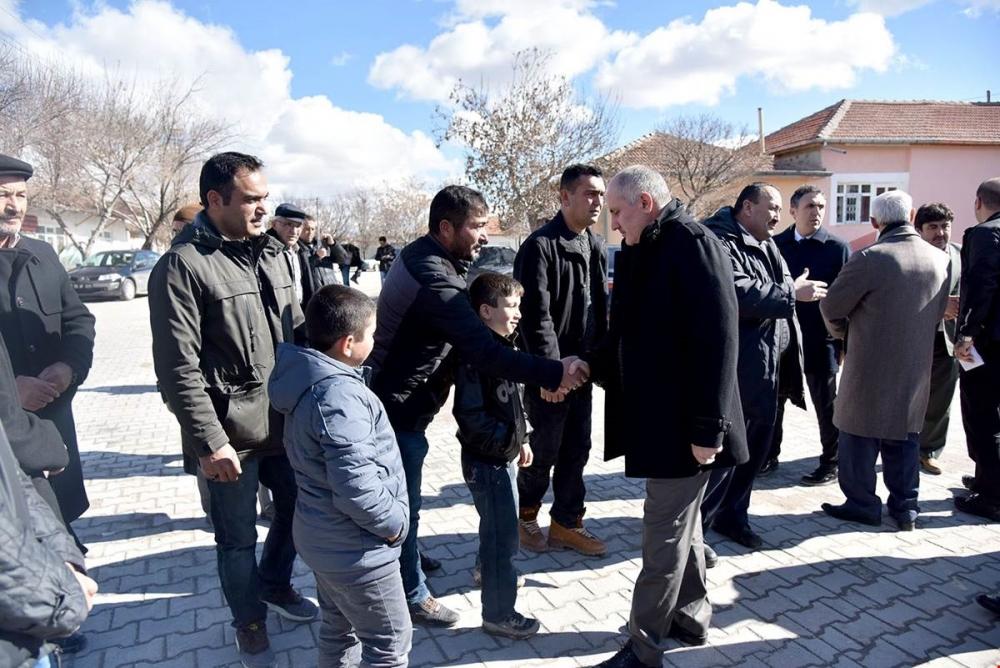 Karaman Valisi Fahri Meral Çoğlu, Karacaören ve Eğilmez Köylerini Ziyare 1