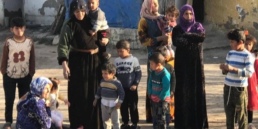 Konya'da Evi Yanan Kadın İki Çocuğuyla Feryat Etti