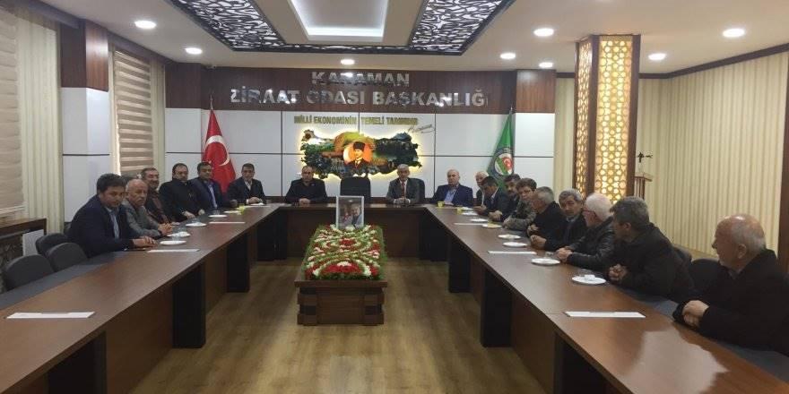 Karaman İl Genel Meclisi Ziyaretlerini Sürdürüyor