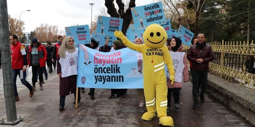 """""""Öncelik Hayatın, Öncelik Yayanın"""" Uygulaması Konya'da da Başladı"""