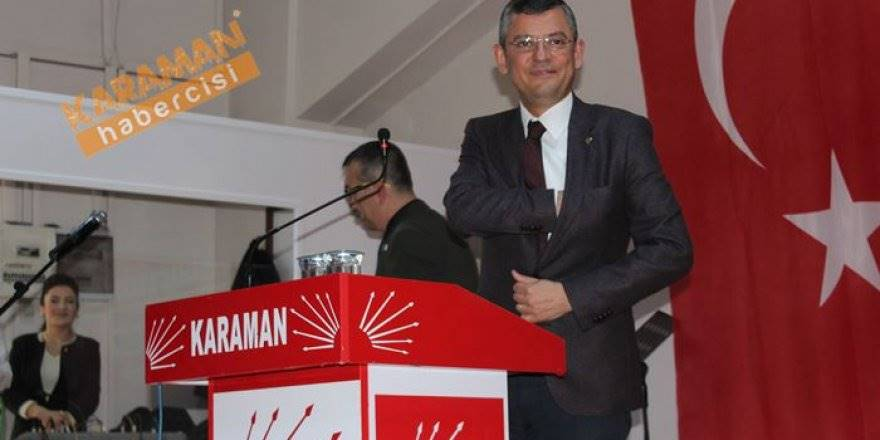 Chp Karaman Aday Tanıtım Toplantısı
