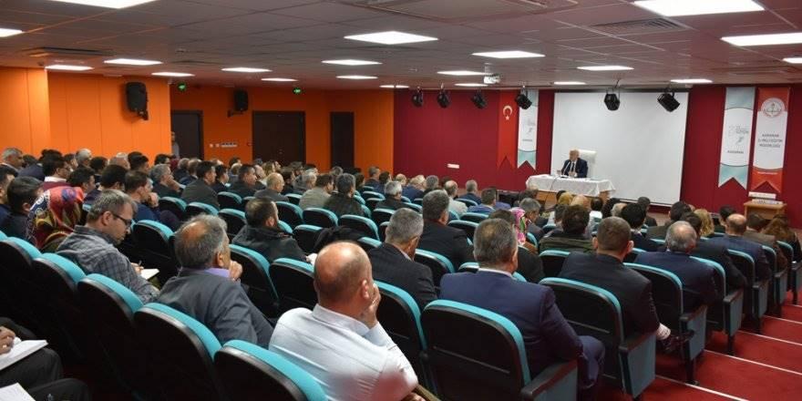 Karaman'da 2018-2019 Okul Müdürleri Toplantısı Gerçekleştirildi