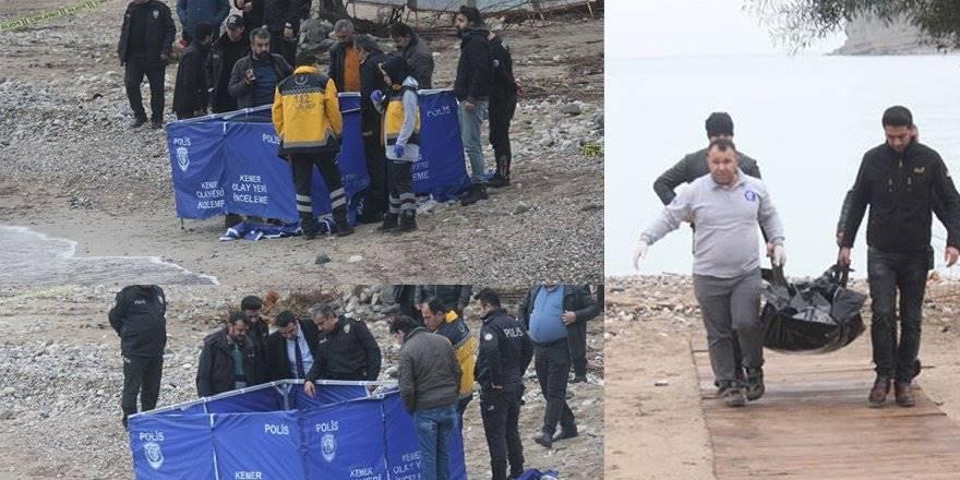 Antalya Kemer Sahilinde Vücudun Yarısı Olmayan Ceset Bulundu