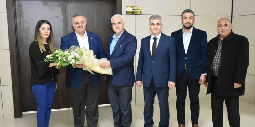 Karaman Milletvekili Recep Şeker İl Milli Eğitim Müdürü Mevlüt Kuntoğlu&