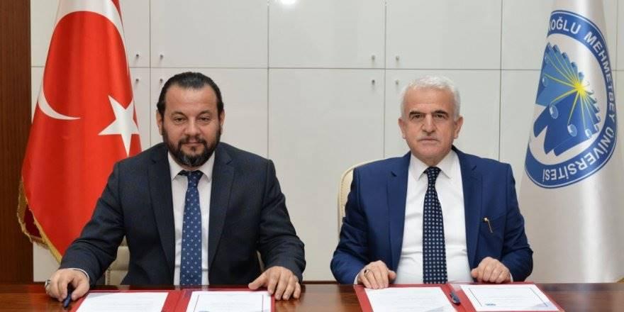 KMÜ İle Karaman Milli Eğitim Müdürlüğü Arasında Bilişim İşbirliği Protok