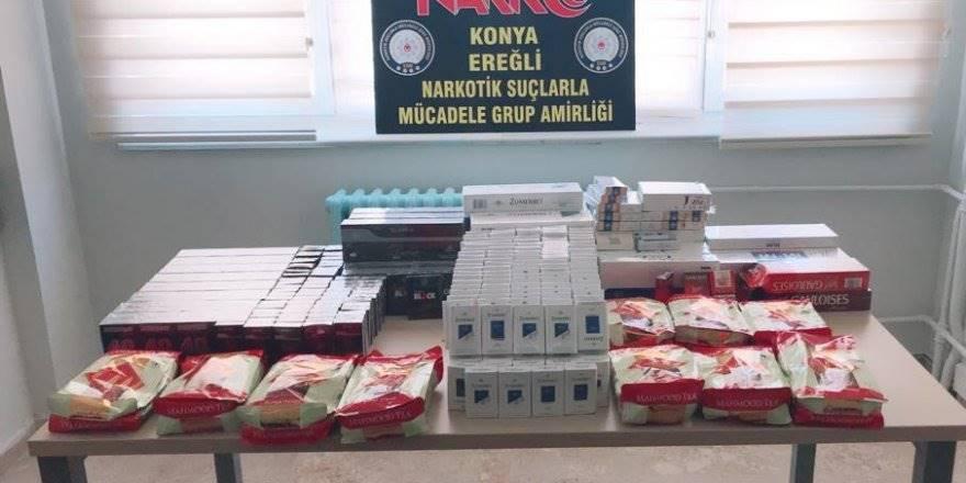 Konya Polisinin Uygulamasında 5 Gözaltı