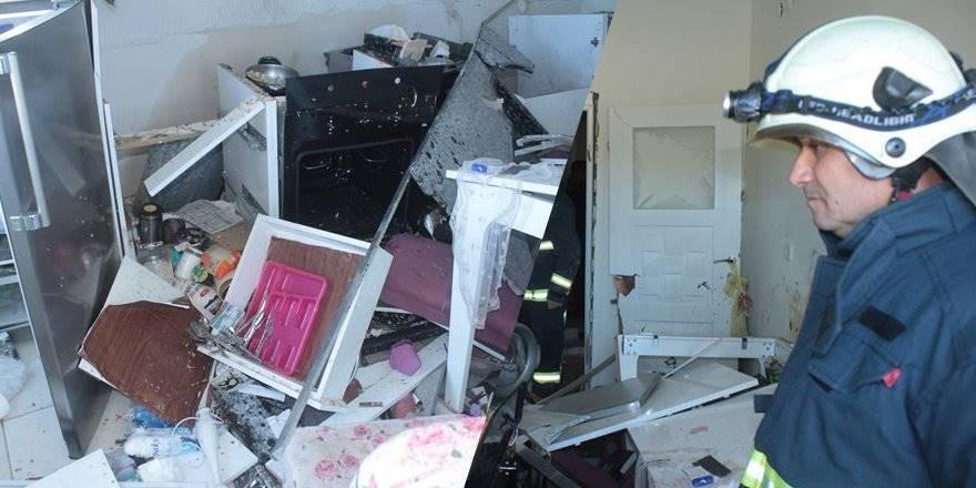 Antalya'da Tüpgaz Patlaması Evi Kullanılmaz Hale Getirdi