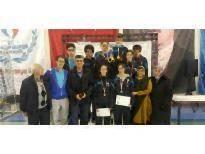Türk Ocakları Öğrencileri Karaman'da Kupa Kaldırdılar