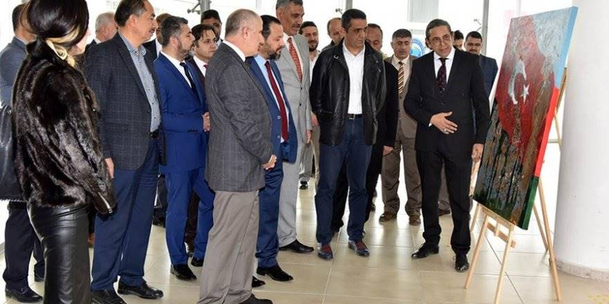 Karaman'da 98.Yıl ve Şehitler Haftası İçin Sergi Açılışı Yapıldı