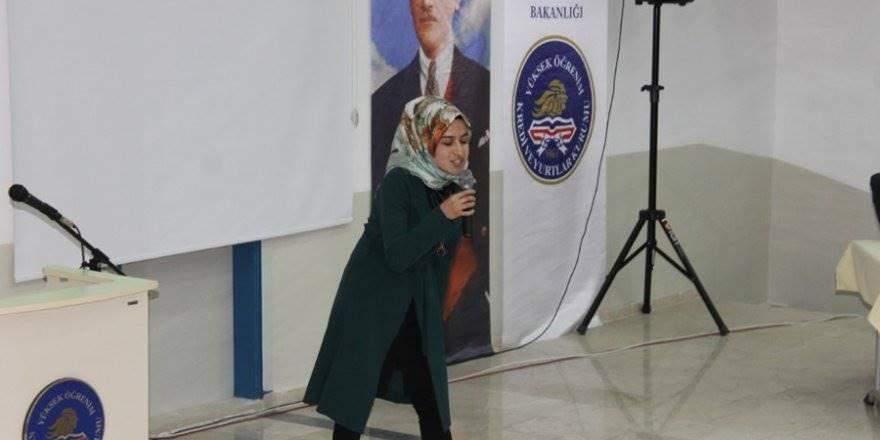 """Karaman'da Yurtlar Arası """"İstiklal Marşı'nı Güzel Okuma&q"""