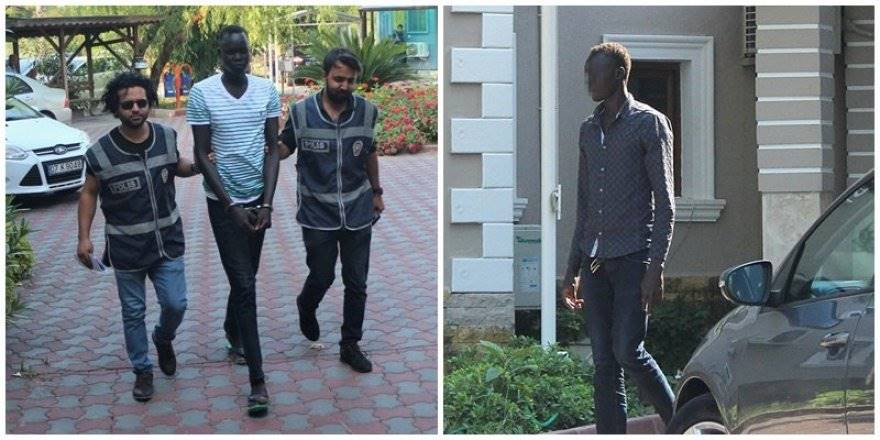 Antalya'da Alkol Alıp 3 Kişiyi Yaralayan Sudanlı Saldırgan, Taciz İ