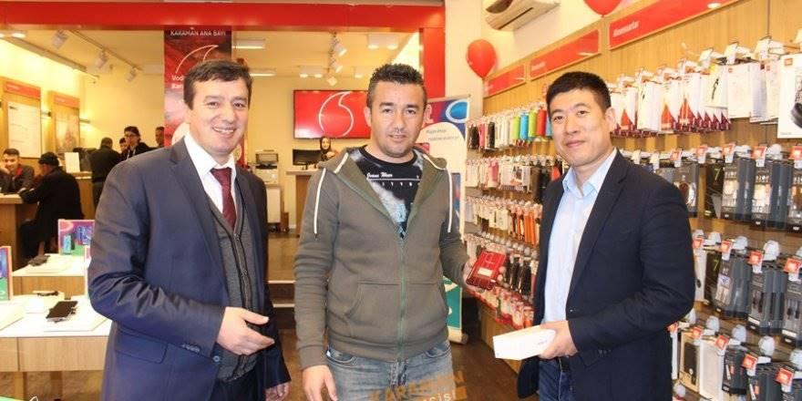 OPPO Türkiye CEOsu  Weijian Zhou Karaman'da