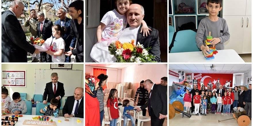 Karaman Valisi Fahri Meral Cumhuriyet Nihat Arslan İlkokuluna Misafir Ol