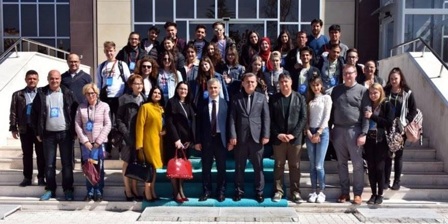 Karaman Milli Eğitim Müdürlüğü Avrupa'dan Gelen Eğitimcileri ve Öğrencil
