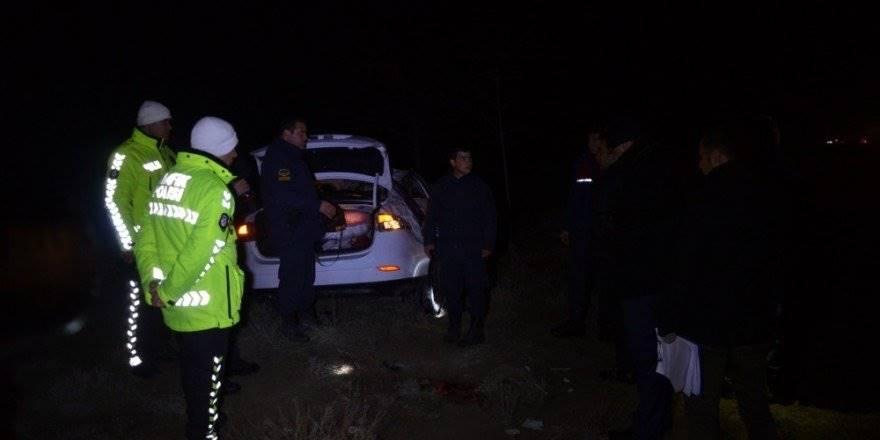 Konya'da Feci Kaza:1 Ölü, 4 Yaralı