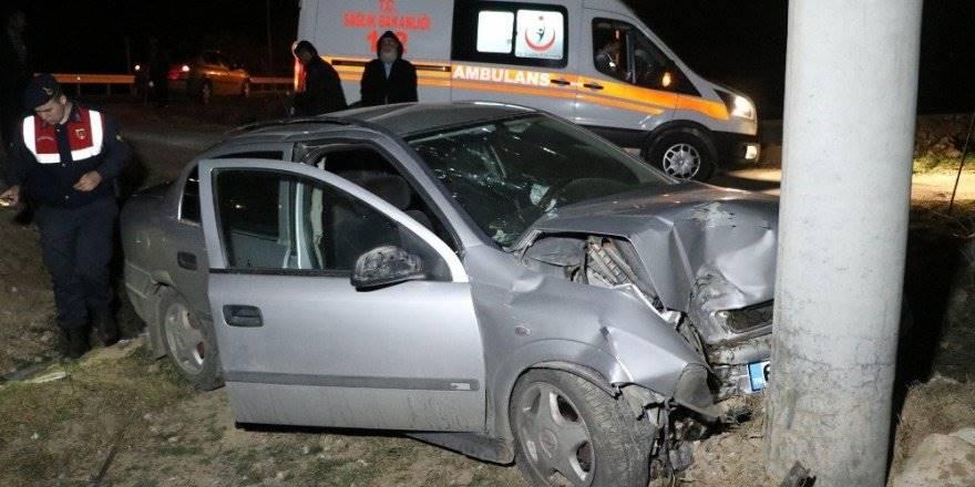 Aksaray'da Otomobil Şarampole Düştü: 1'i Çocuk 6 Yaralı
