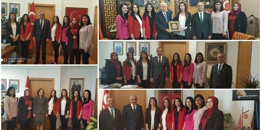 Karamanlı Asenalar'ın MHP Genel Merkez Ziyareti