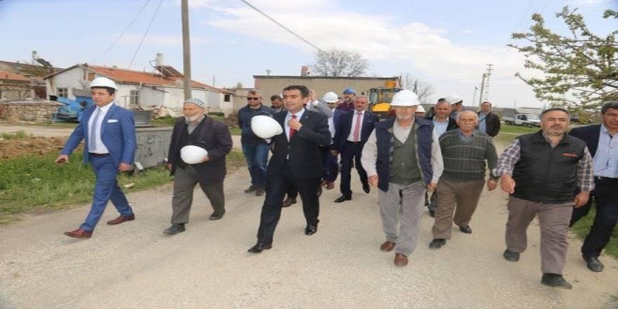 Karaman'da Fatih Mahallesi Doğal Gaza Kavuşuyor
