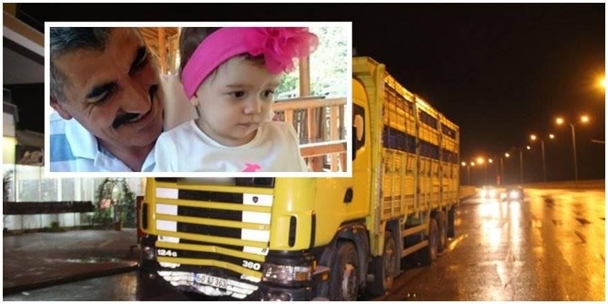 Konya'da TIR Otomobile Çarptı, 3 Yaşındaki Nisa Hayatını Kaybetti