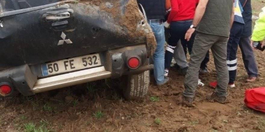 Aksaray'da Pikap Yoldan Çıktı: 1 Yaralı